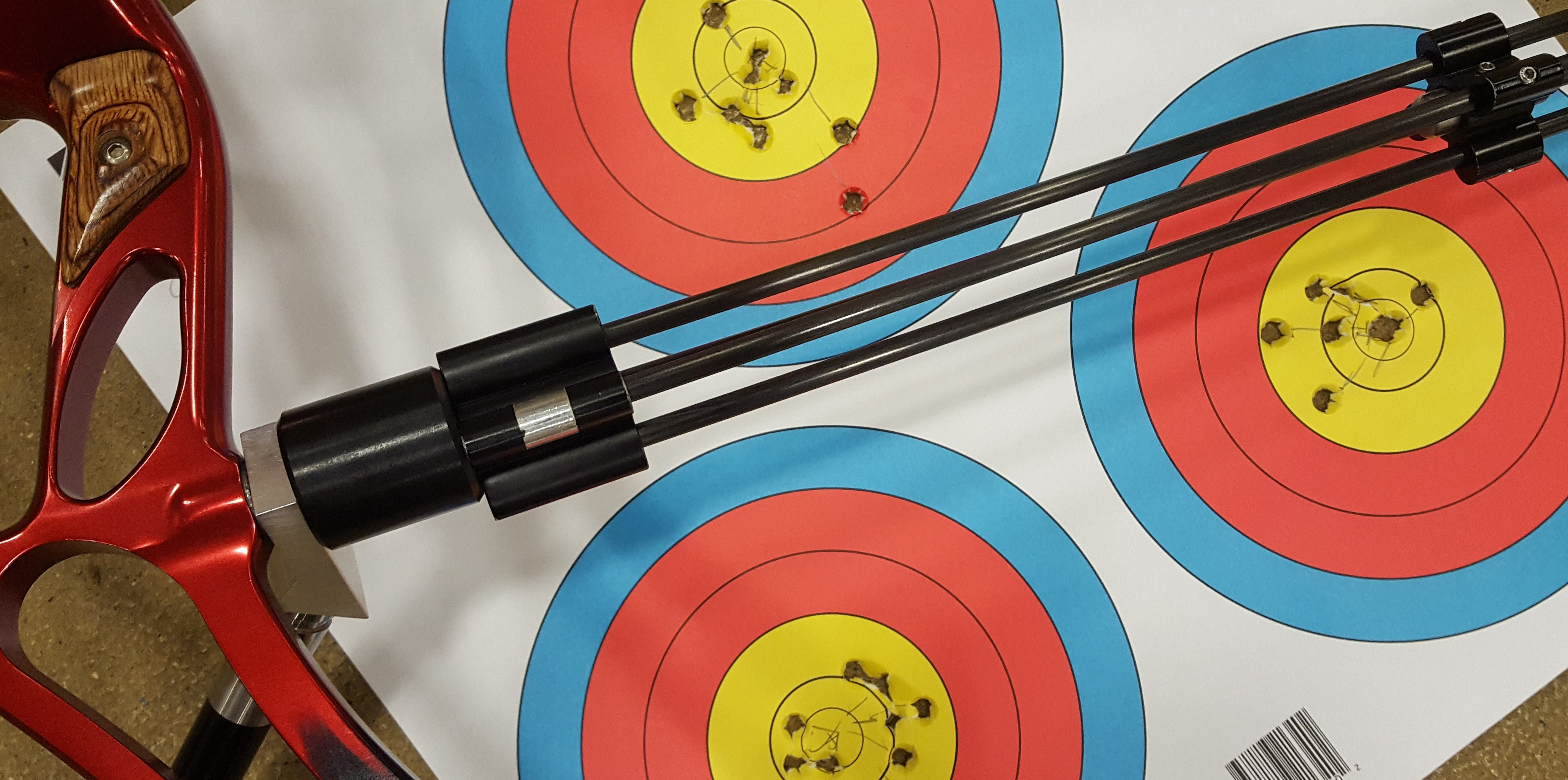 Archery target and bow