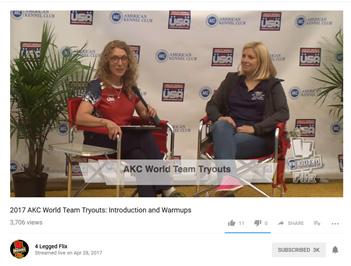 Mirja Lapagna interview sponsored by 4Legged Flix